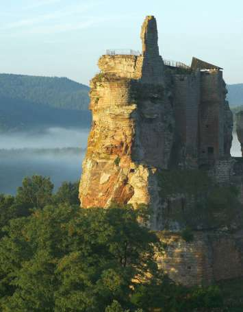 Traversée du Massif des Vosges - Etape 01 - Wissembourg - Obersteinbach - image