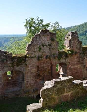 Randonnée des forges aux châteaux de Windstein - image