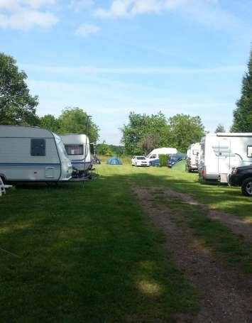 Aire de service artisanale pour camping-car - image