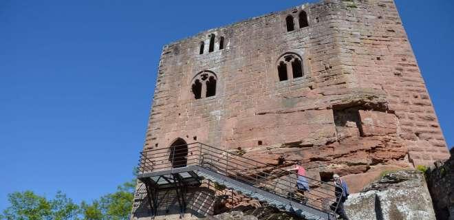 Circuit de randonnée vers les châteaux de Windstein- image