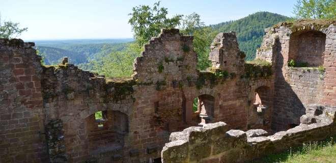 Randonnée des forges aux châteaux de Windstein- image