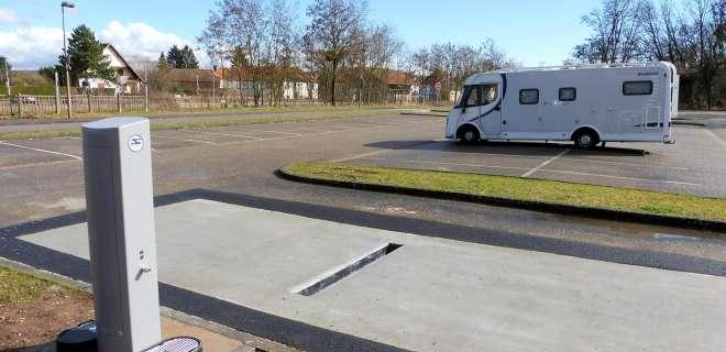 Rastplatz für Wohnmobile- image