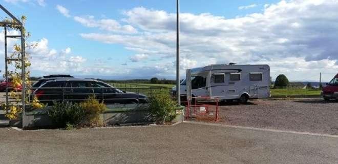 Aire de stationnement camping-car - Vignoble- image