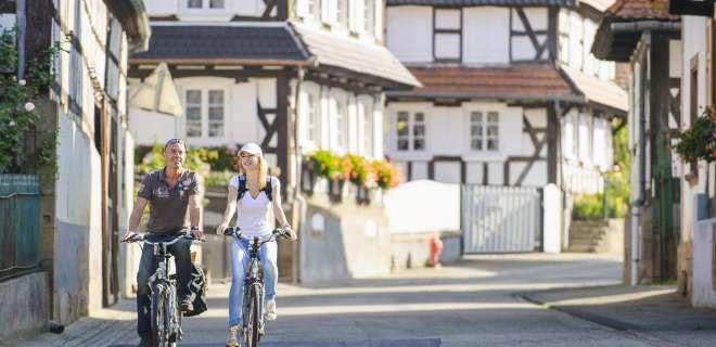 Circuit vélo Villages pittoresques, ligne Maginot et vignoble de Cleebourg- image