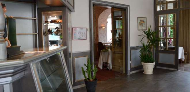 Bar du restaurant Le Bristol- image